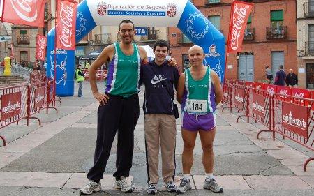 Media de Cantalejo junto a Rafa y Sergio