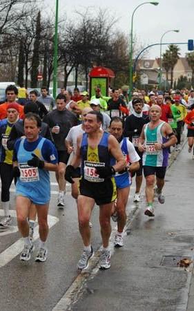 Bajo la lluvia en Getafe 2009