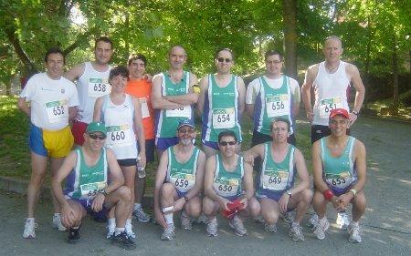 Foto de equipo en Jadraque 2010