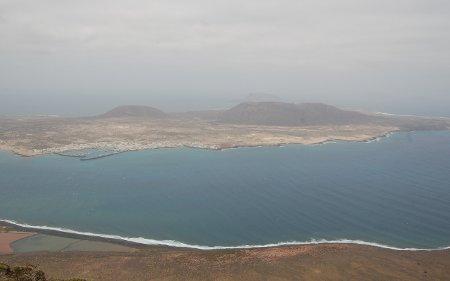 Isla Graciosa desde el Mirador del río