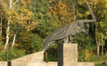 Homenaje a los alemanes caídos en la Guerra Civil española