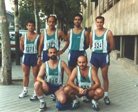 Foto oficial Melonera 1996