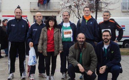 Con los compañeros de MaraTI+D