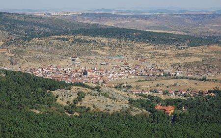 Orihuela del Tremedal, visto desde la ermita