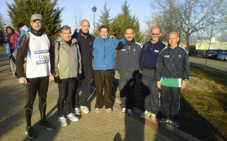 Con los compañeros de MaraTID