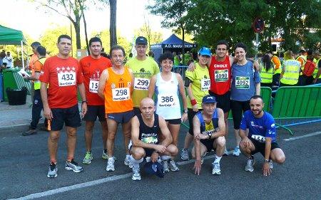 Pradolongueros en la Carrera del Zofío 2012
