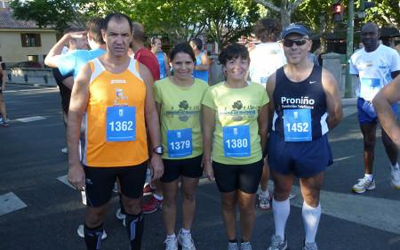Pradolongueros en la carrera de El Pardo