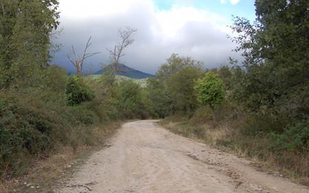 Camino por la sierra de Gredos