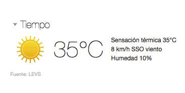 treinta-cinco-grados